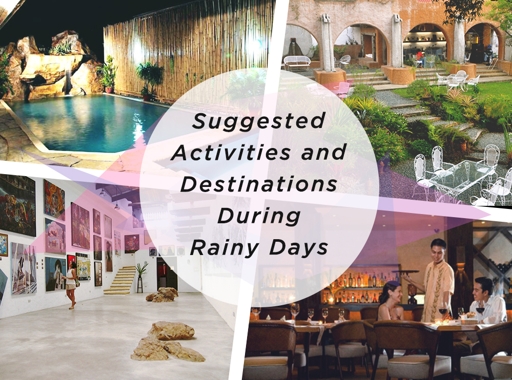 Suggested Activities and Destinations During Rainy Days